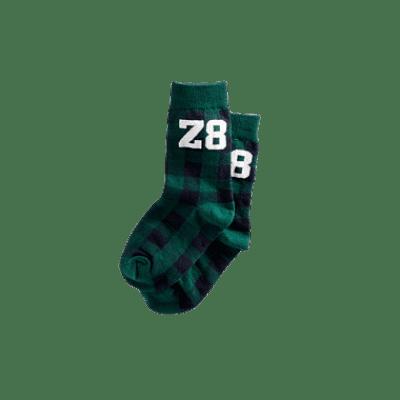 Z8 boys sokken Bosse green