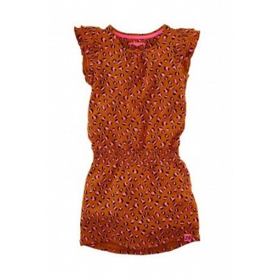 Foto van Z8 girls Lyla Dress Cognac/Leopard