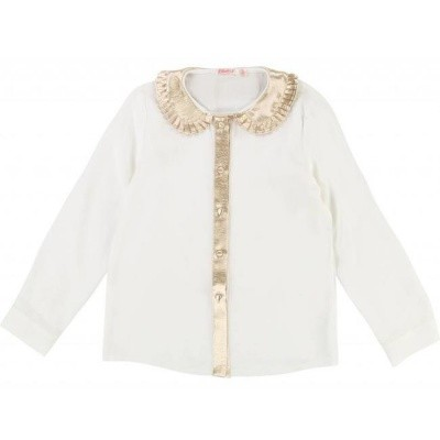 Foto van Billieblush girls ivory blouse gold