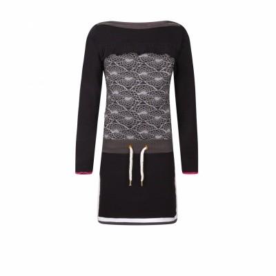 Ninni vi dress 76 dark grey