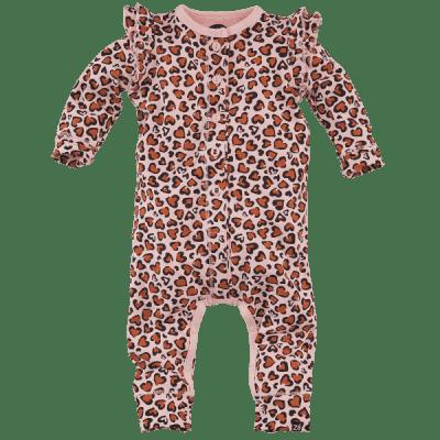 Foto van Z8 girls newborn boxpak Helsinki Pink All over print leopard