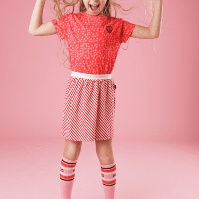 Juliette Dress Heart Red