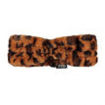 Flo haarband fluffy panter cognac