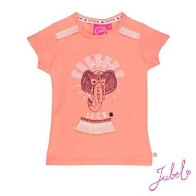 Jubel T-Shirt Lady Luck Stargazer Coral