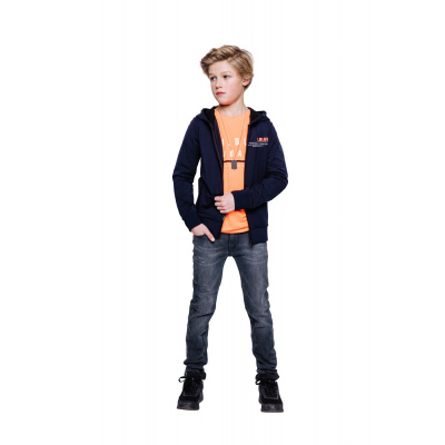 Foto van Indian blue jeans boys longsleeve neon orange