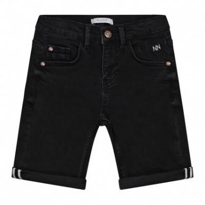 Nik & Nik Boys Ferdinand Shorts Black Denim