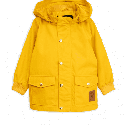 Foto van Mini rodini Pico jacket yellow