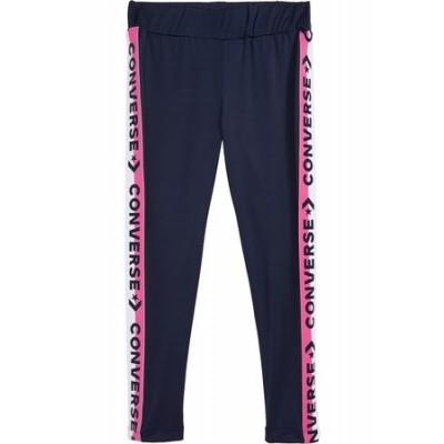 Foto van Converse girls High rise leggings with wordmark taping Obsidian