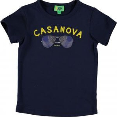 Foto van funky xs boys shirt casanova navy