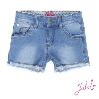 Jubel short denim licht blauw