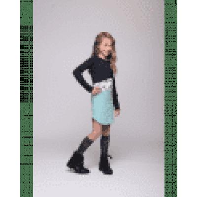 Little miss Juliette Sweat dress 3 NVY