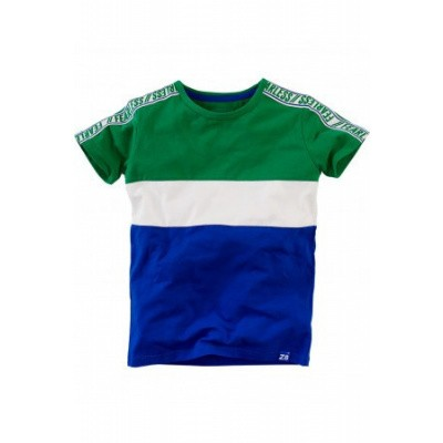 Foto van Z8 baby boys Juup T-shirt Groovy Green/Bright White/Brilliant Blue