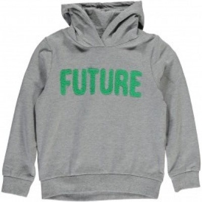 Name it boys sweater hood Grey Future