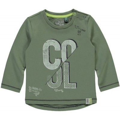 Quapi baby boy long sleeve Ralf urban green