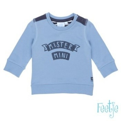 Feetje sweater mister mini blue