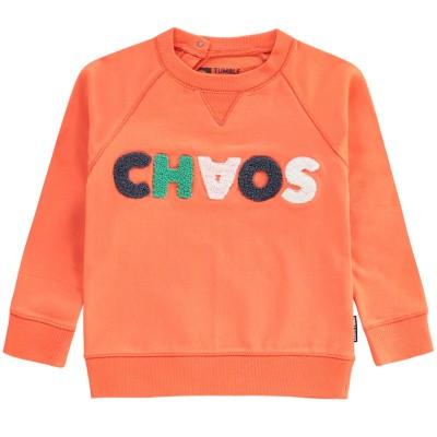 Foto van tumble n dry baby sweater Arran orange