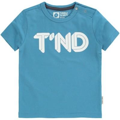 Foto van Tumble n Dry baby boy shirt Aquapo blue
