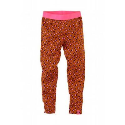 Foto van Z8 legging Barbara cognac/leopard