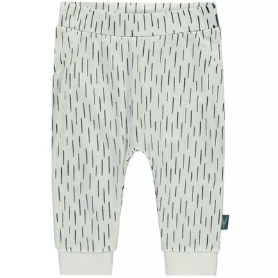 Levv newborn boys pants Ingmar off white stripe