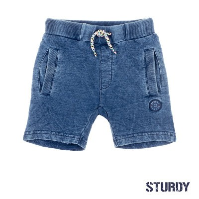 Foto van Sturdy Short Denim look Wild Wanderer Blue Denim