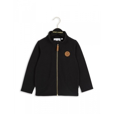Foto van Mini Rodini fleece jacket black