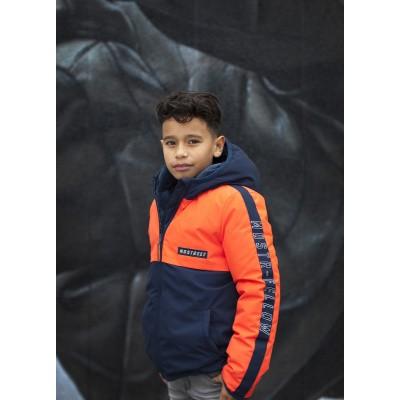 Foto van Moodstreet jongens winterjas orange