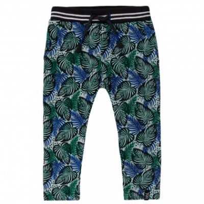 Beebielove boys pants print all over leaves Color: Har