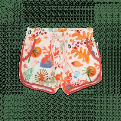 Foto van Ammehoela retro shorts with coral print