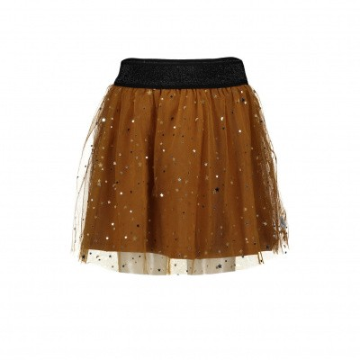 Foto van Moodstreet rok brown star