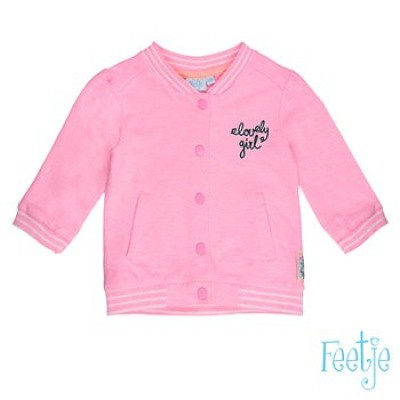 Foto van Feetje baby girls Sweat vest tropical