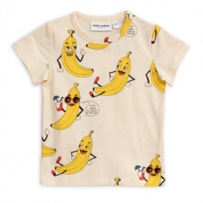 Foto van Mini rodini banana aop tee