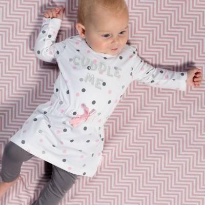 Quapi newborn jurkje Zaar multi dot