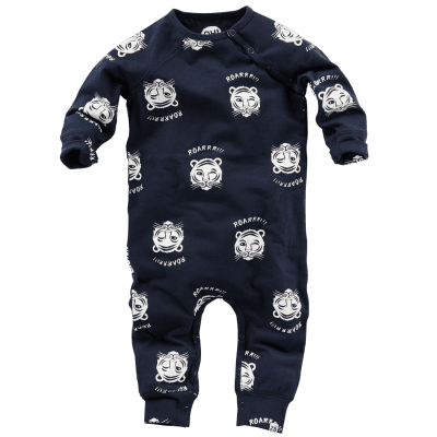 Foto van Z8 newborn boys Neptunes Navy/All over print tijger