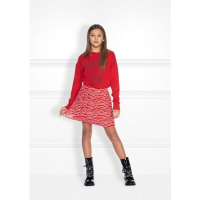 Nik & Nik girls Nik Star Sweater Candy Red