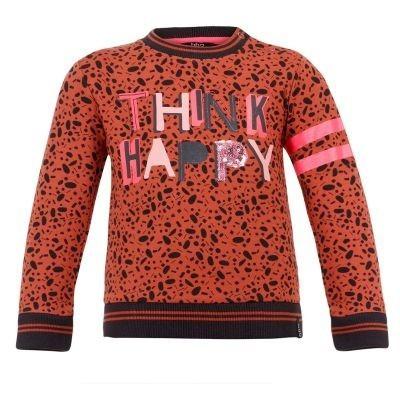 Foto van Beebielove baby girls Sweater Think Happy BKD