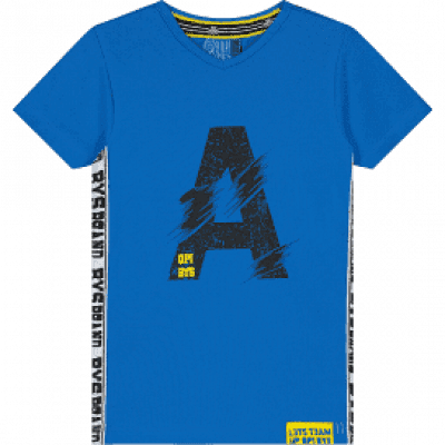 Foto van Quapi Boys T-Shirt Abdel Fresh Blue