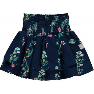 Foto van Quapi girl skirt Svana Navy Flower