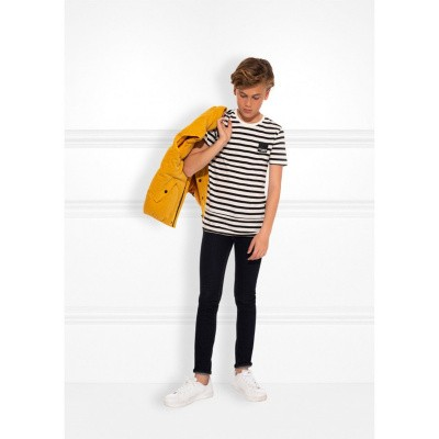 Foto van Nik &nik boys tshirt Kirill black/white stripe
