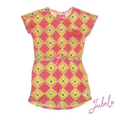 Jubel Jurk La isla print all over