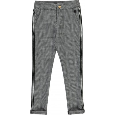 Foto van Levv girls pants Brandy Espresso check