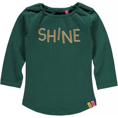 Foto van Quapi baby girls Valesca Longsleeve Bottle Green