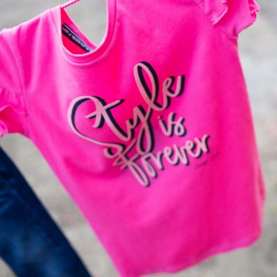 Quapi shirt Fenny hot pink