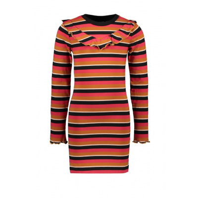Foto van Moodstreet girls dress stripe