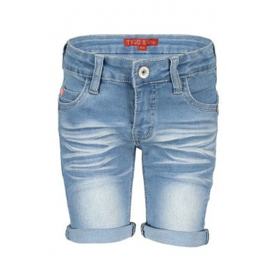 Foto van Tygo & Vtio boys Denim Short 801 l. used