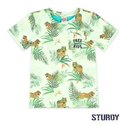 Sturdy T-Shirt AOP Wild Wanderer White