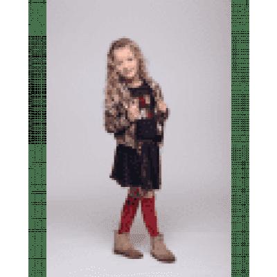 Little miss Juliette Bomber Flowers MUL
