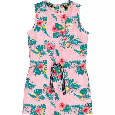 Quapi Baby Girl Bellini Dress Light Pink Flower