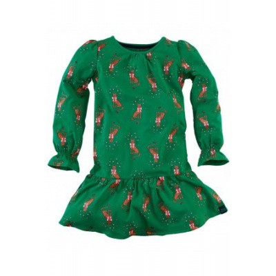 Foto van Z8 girls Natalie Dress Groovy Green/All over print Cat
