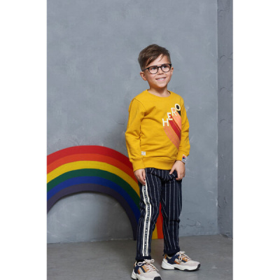 Foto van Sturdy boys sweater yellow hero