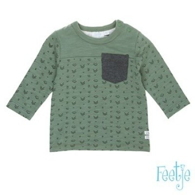 Foto van Feetje baby boy longsleeve army green